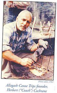 Allagash Canoe Trips Founder Herb Cochrane