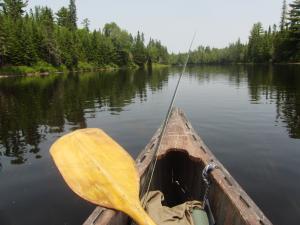allagash-canoe-trips-canoe-bow