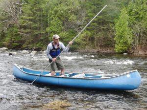 Canoe Poling Allagash Canoe Trips