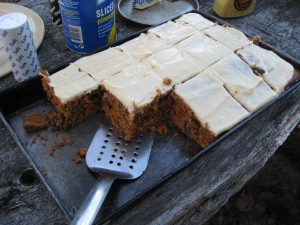 Allagash Canoe Trips carrot cake