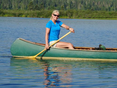 Lani Cochrane, Allagash Canoe Trips guide