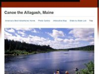 Press Room: National Geographic Article - Canoe the Allagash