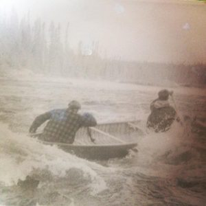 Running the rapids in the old days