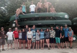 Senior class Allagash Canoe Trips