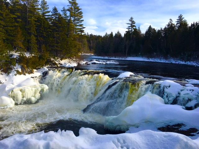 Grand falls, Dead River