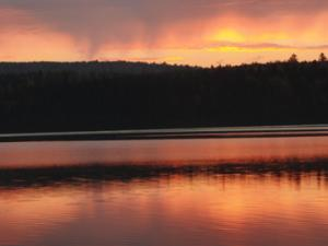 Sunset in the Allagash